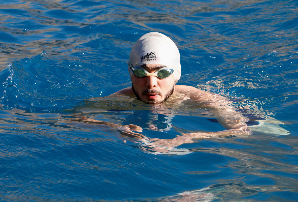 The Syrian Refugee Dreaming Of Swimming In The Olympics
